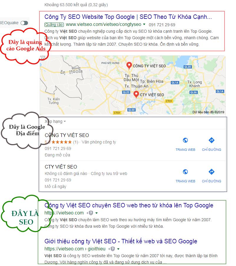 Đẩy từ khóa lên top google